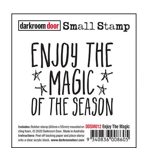 "Darkroom Door Small Stamps - ""Enjoy the Magic"""