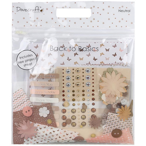 Dovecraft Project Kit / Embellishment Kit.