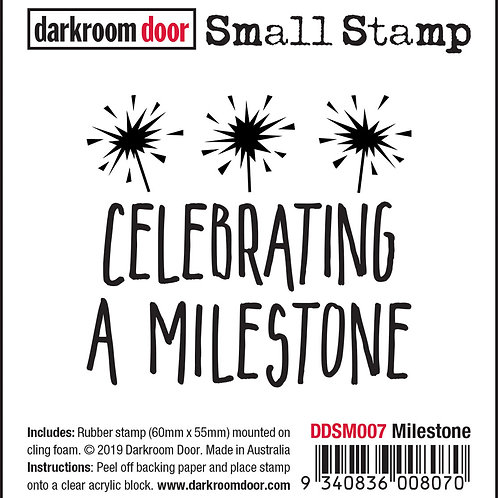 "Darkroom Door Small Stamps - ""Milestone"""