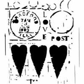 "TCW - 6x6 -  ""Love Post"""