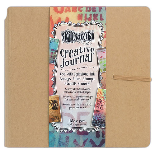 "Dylusions Creative Journal 8 5/8"" x  8 5/8"""