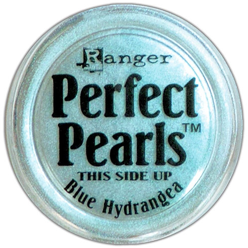 RANGER-Perfect Pearls Pigment Powders. Blue Hydrangea