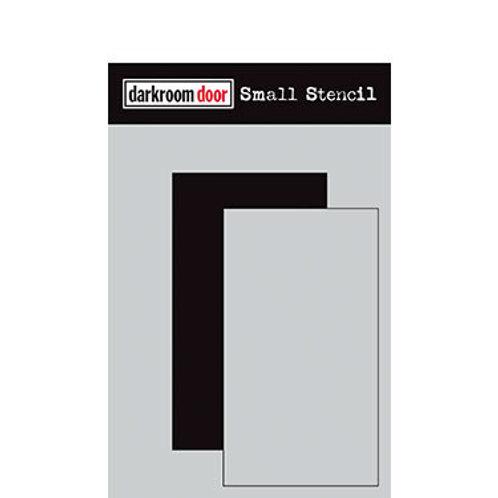 """Darkroom Door Stencil - """"Rectangle Set""""   4.5"""" x 6"""""""