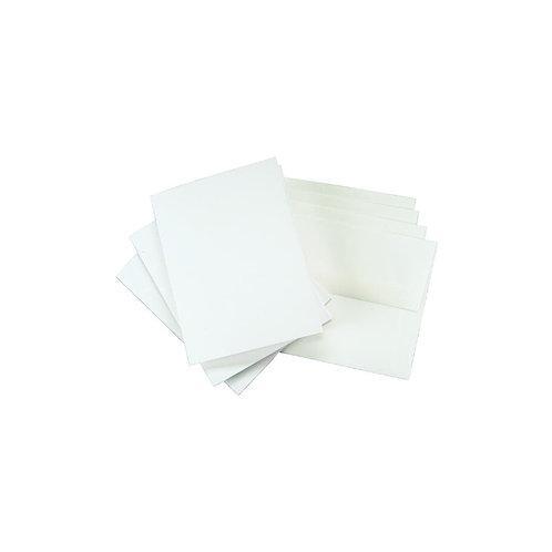 "Leader A2 Greeting Cards W/Envelopes (4.375""X5.75"") 25/Pkg"