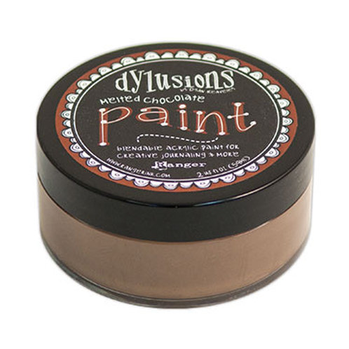 """Dylusions Blendable Acrylic Paint 2oz - """"Melted Chocolate"""""""