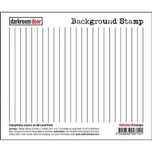 """Darkroom Door - """"Pinstripe""""   Background Rubber Stamp"""