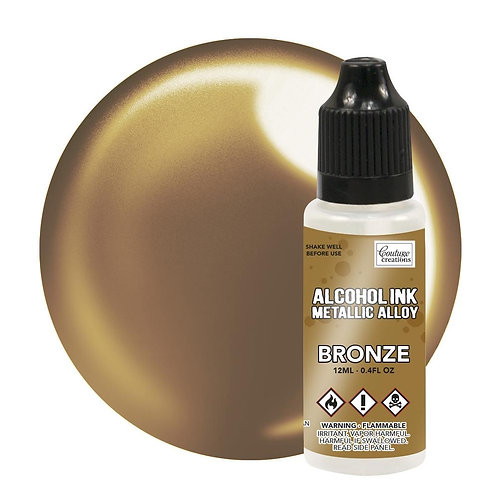 """""""Bronze"""" Couture Creations Metalic Alcohol Ink 12ml"""