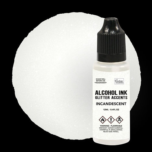 """""""Incandescent""""  Couture Creations Alcohol Ink Glitter Accents 12ml"""
