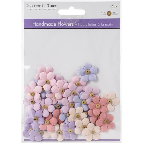 Forever in Time Handmade Flowers 36 pc