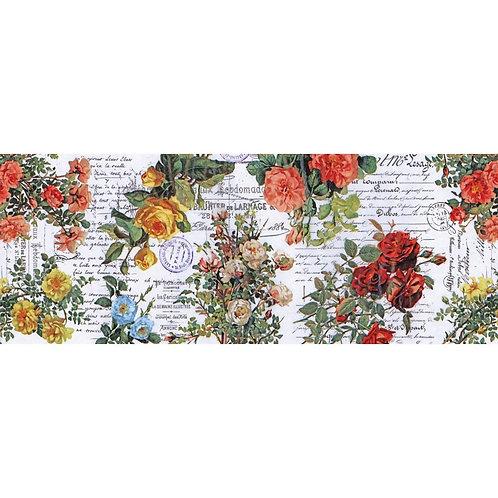 """Tim Holtz Botanical Idea-Oligy Collage Paper 6"""" x 6 yards"""