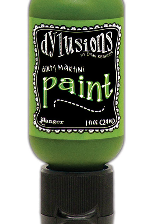 """Dylusions Paint Flip Cap """"Dirty Martini"""""""