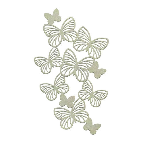 Couture Creations Butterfly Chipboard