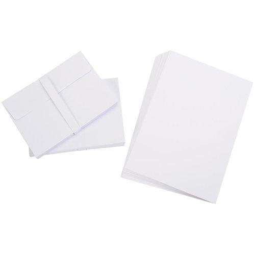 "Darice Heavyweight A2 Cards/Envelopes (4.375""X5.75"") 50/Pkg"