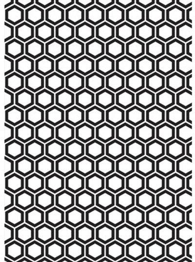 """Kaisercraft Embossing Folder """"Honeycomb"""" 5 x 7"""