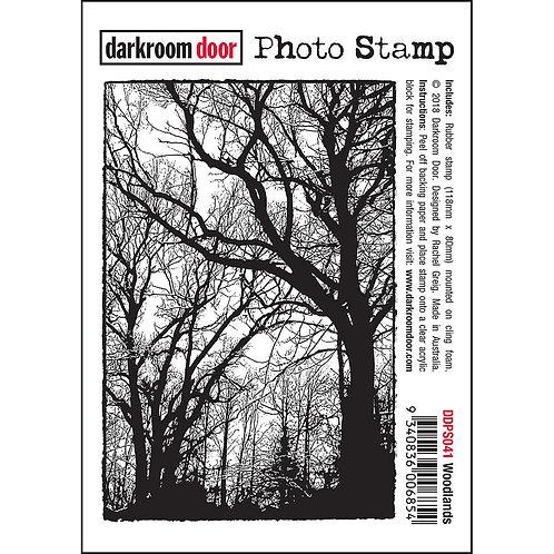 """""""Woodlands"""" - Darkroom Door Photo Rubber Stamp"""
