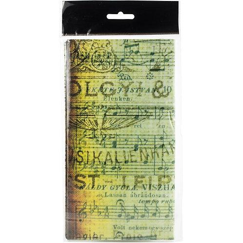 """Musica Finnabair Mixed Media Tissue Paper 27.5""""X19.7"""" 6/Pkg"""