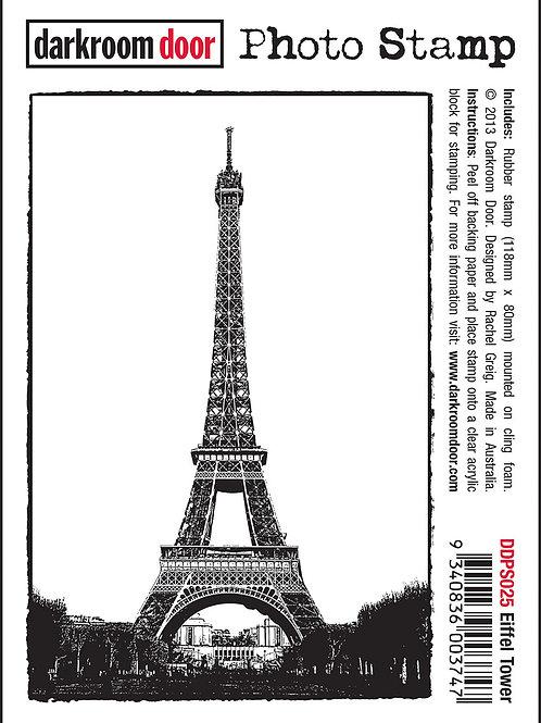 """Darkroom Door - """"Eiffel Tower"""" Photo Rubber Stamp"""