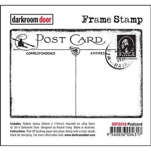 """Darkroom Door Frame Stamp - """"Postcard"""""""