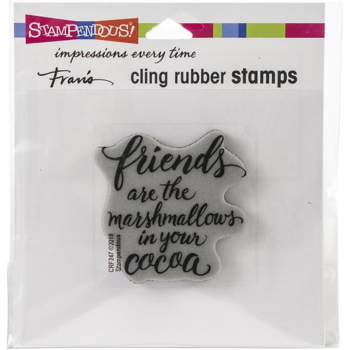 """""""Marshmellow Friends""""  Stampendous Cling Mount Rubber Stamps"""