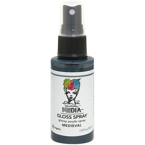 """""""Medieval"""" Dina Wakley Media Gloss Spray"""