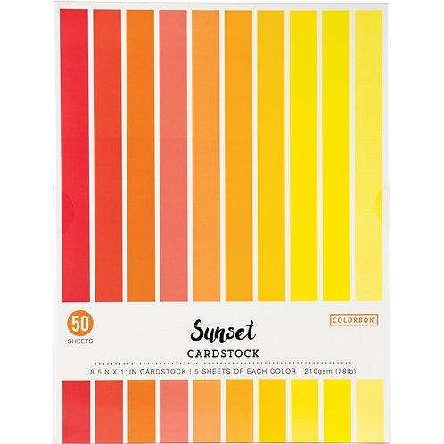 Colorbok A4  210gsm Smooth Cardstock  - 50/Pkg