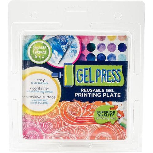 "Gel Press Gel Plate 6""X6"""