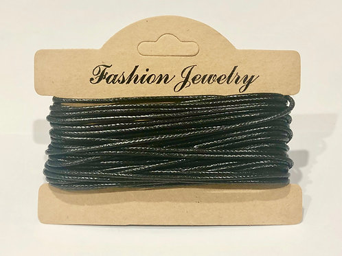 10m x 1.5mm Premium Waxed Polyester Cord Jewellery making braclet necklace