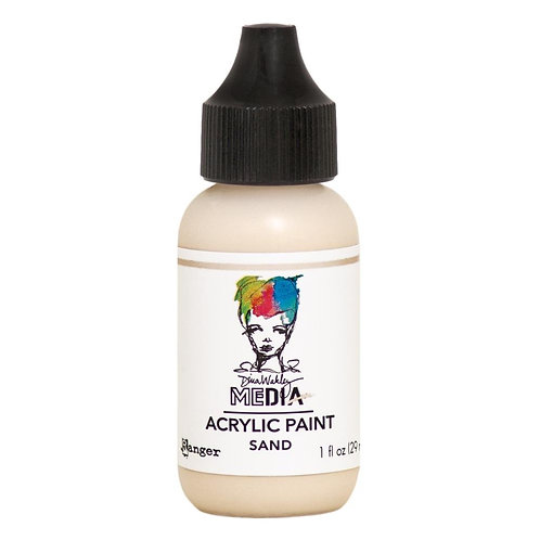 "Wakley Media Acrylic Paint 1oz ""Sand"""