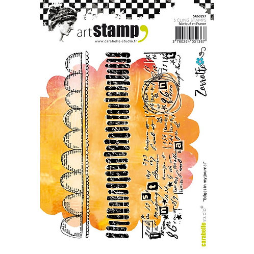 Carabelle Studio Cling Stamp A6 By Zorrotte