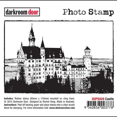 """Darkroom Door - """"Castle"""" Photo Rubber Stamp"""