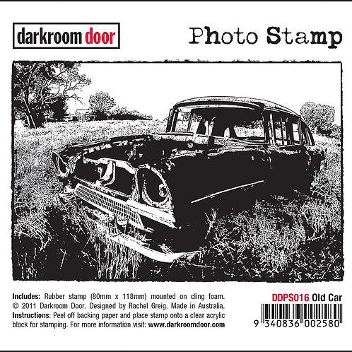 """Darkroom Door - """"Old Car"""" Photo Rubber Stamp"""