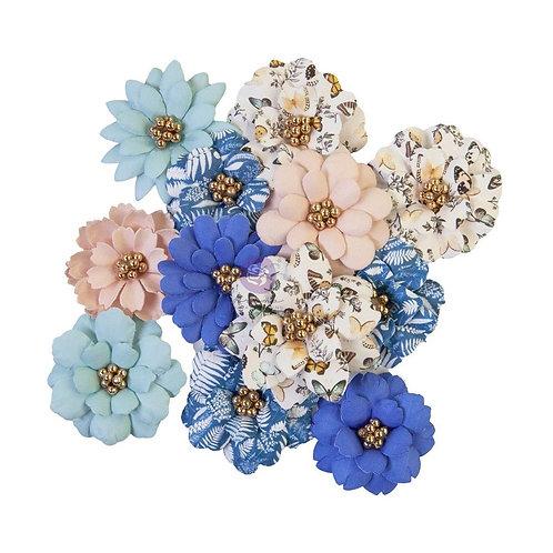 Prima Marketing  Paper Flowers 12 Pieces