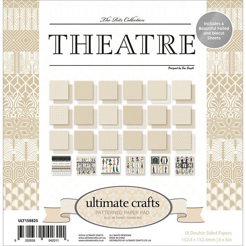 "Ultimate Crafts Double-Sided Paper Pad 6""X6"" 24/Pkg"