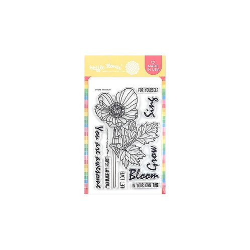"""Waffle Flower Crafts Clear Stamps 4""""X6"""""""