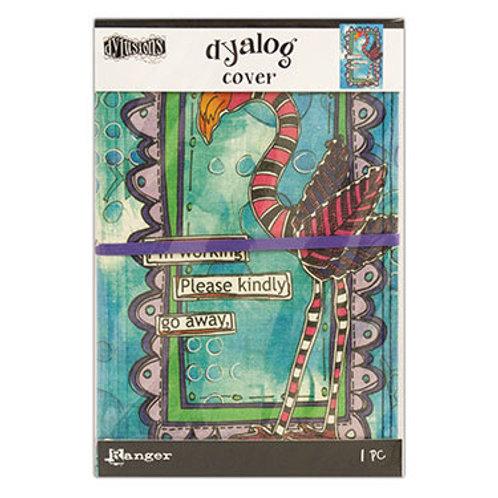 "Dylusions Flamingo Cover - ""Dyalog Cover"""