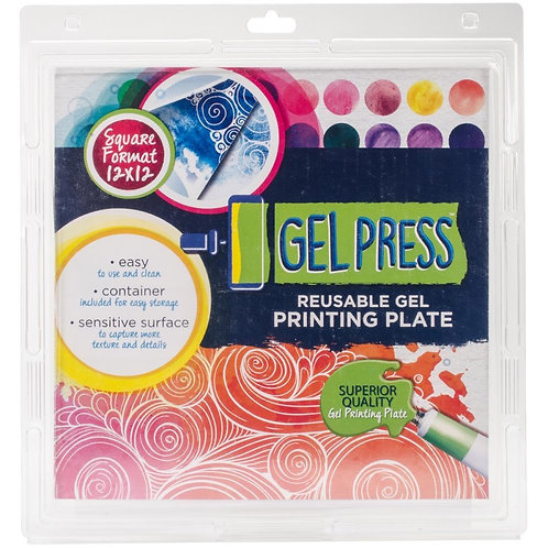"Gel Press Gel Plate 12""X 12"""