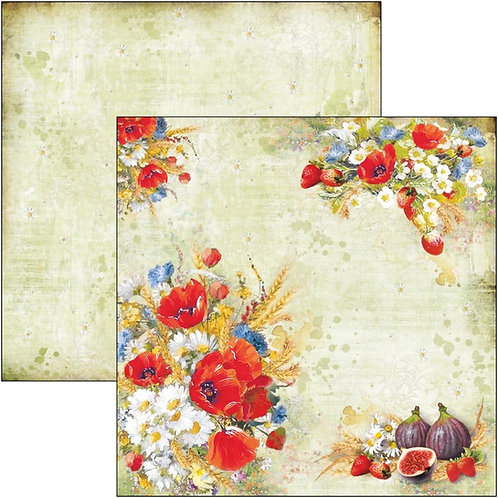 """Wildflower Ciao bella  Double-Sided Cardstock 12""""X12"""""""