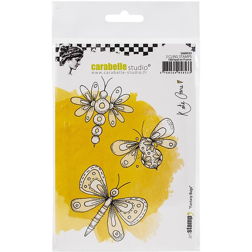 """Carabelle Studio Cling Stamp A6 """"Fantasy Bugs"""""""