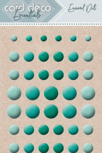 Card Deco Enamel Dots -  46 pieces various sizes
