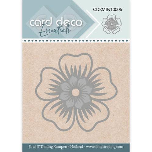 "Card Deco Flower Cutting Die  1.75"""