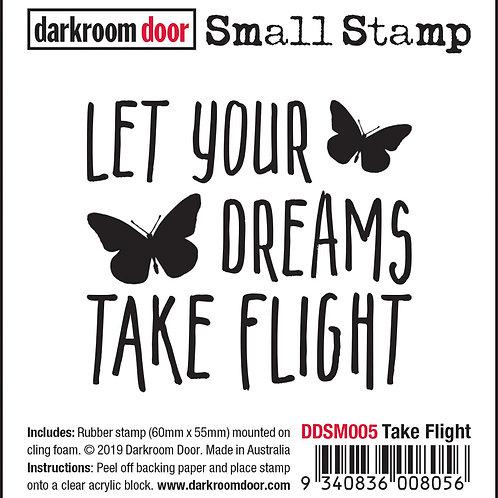 """Darkroom Door Small Stamps - """"Take Flight"""""""