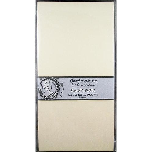 "Fundamentals Cardmaking Unscored Cardstock 5.5""X11"" 20/Pkg"