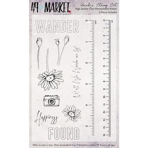 """49 Market Stamps - """"Wander"""""""