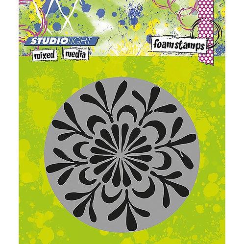 #02 Studio Light Mixed Media Foam Stamps