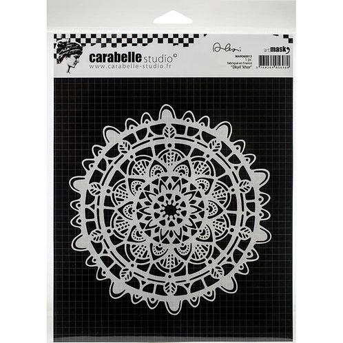 """Carabelle Studio Mask 6""""x 6"""" """"Dkyil Khor"""""""