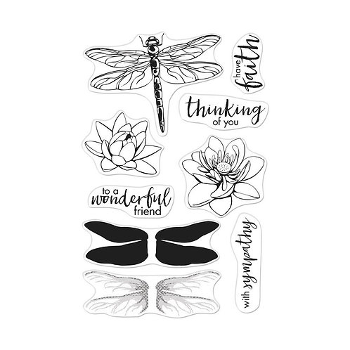 """Hero Arts Color Layering Clear Stamps 4""""X6"""""""