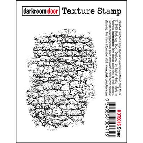 """Darkroom Door - """"Stone"""" Texture Rubber Stamp"""