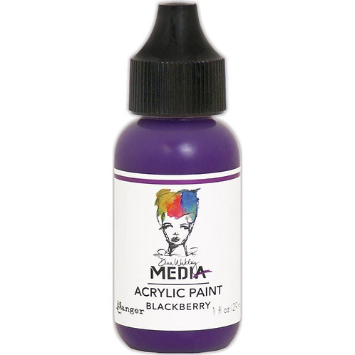 "Wakley Media Acrylic Paint 1oz ""Blackberry"""