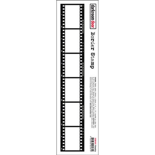 "Darkroom Door - ""Filmstrip"" Border Rubber Stamp"