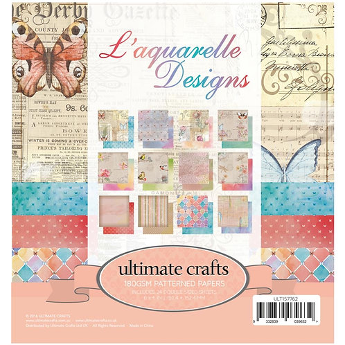 """Ultimate Crafts Double-Sided Paper Pad 6""""X6"""" 24/Pkg"""